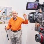 Das ist doch noch kein Alter! Meine Zukunft in Frankfurt gestalten - Bilder von der Vernissage © Hans Keller